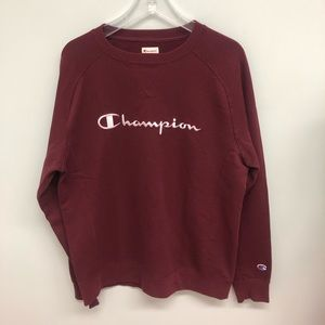 Champion Sweatshirt: Red (PM552)